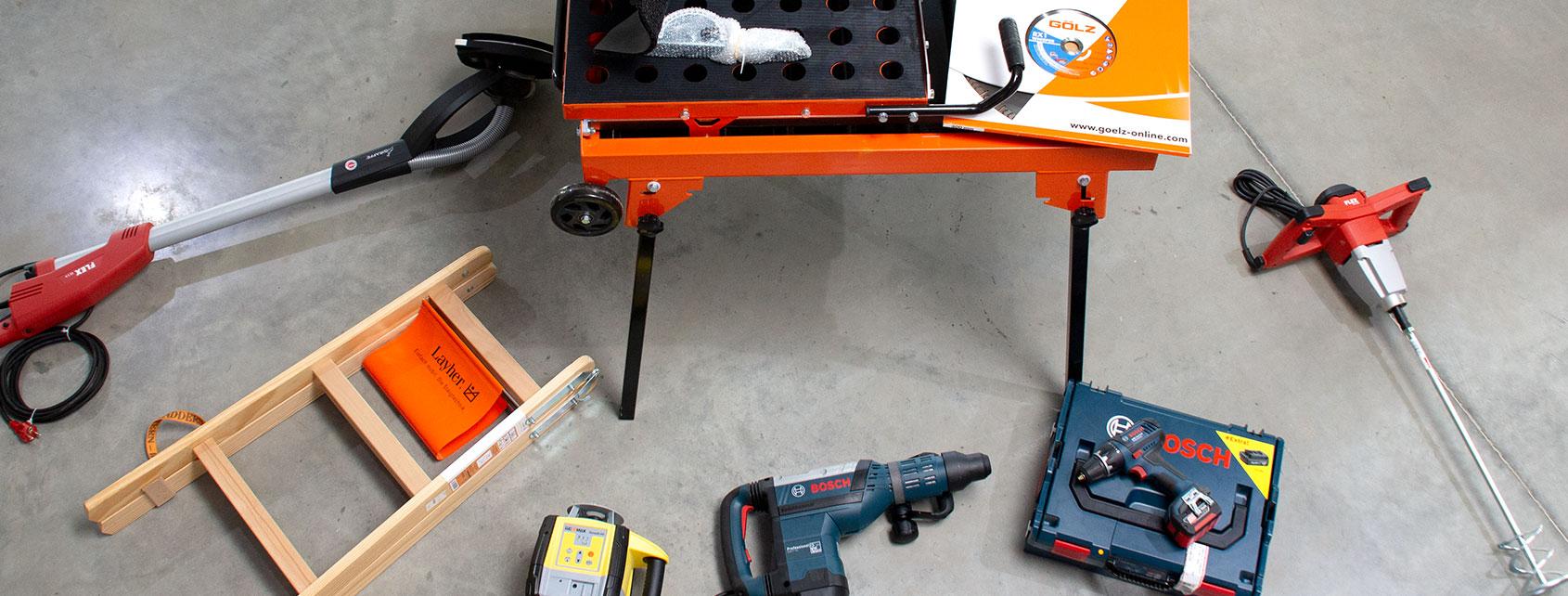Profi Shop - Ausstattung für Handwerker