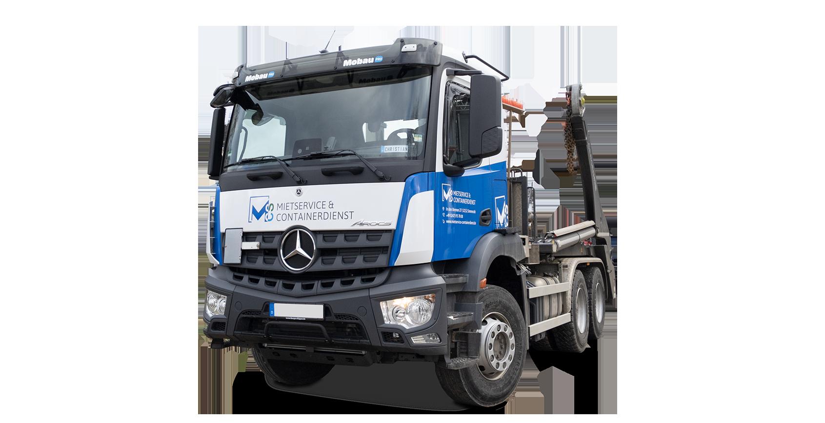 Containerdienst LKW - Flotte